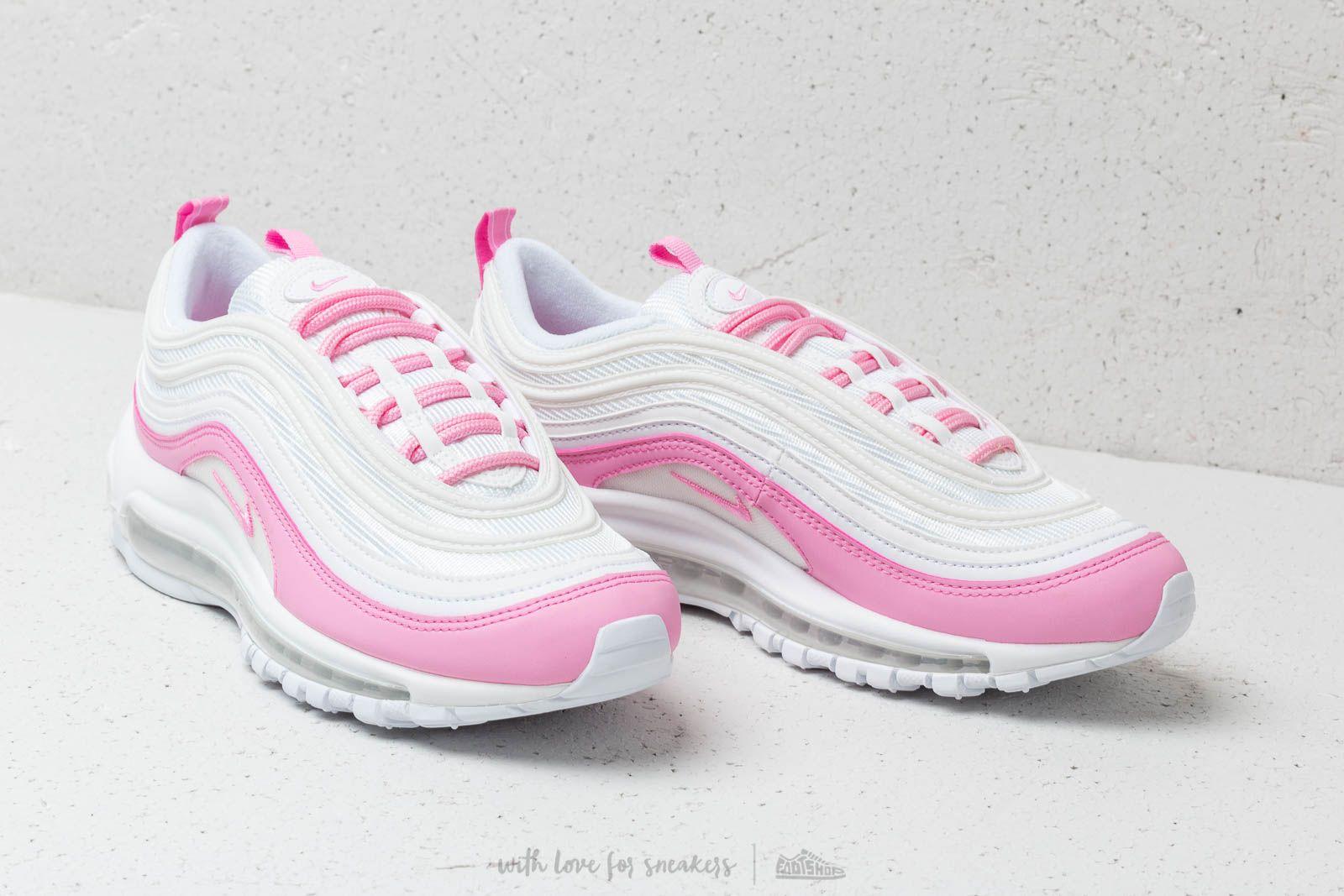 Nike W Air Max 97 Ess White Psychic Pink | Footshop