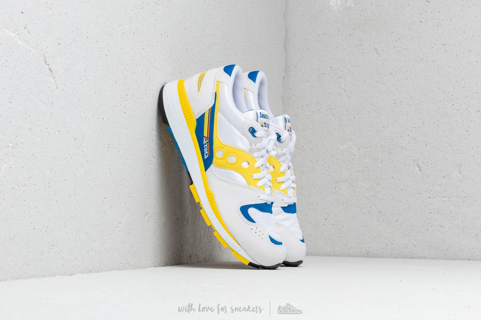 Чоловіче взуття Saucony Azura White/ Yellow/ Blue