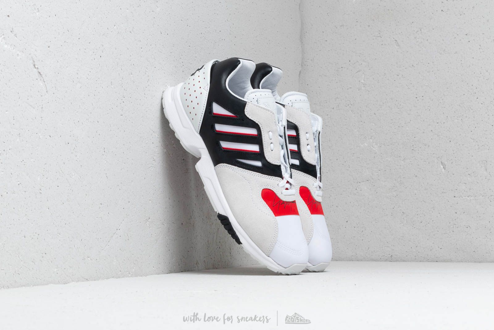 Men's shoes Y-3 ZX Run Ftw White/ Black/ Red