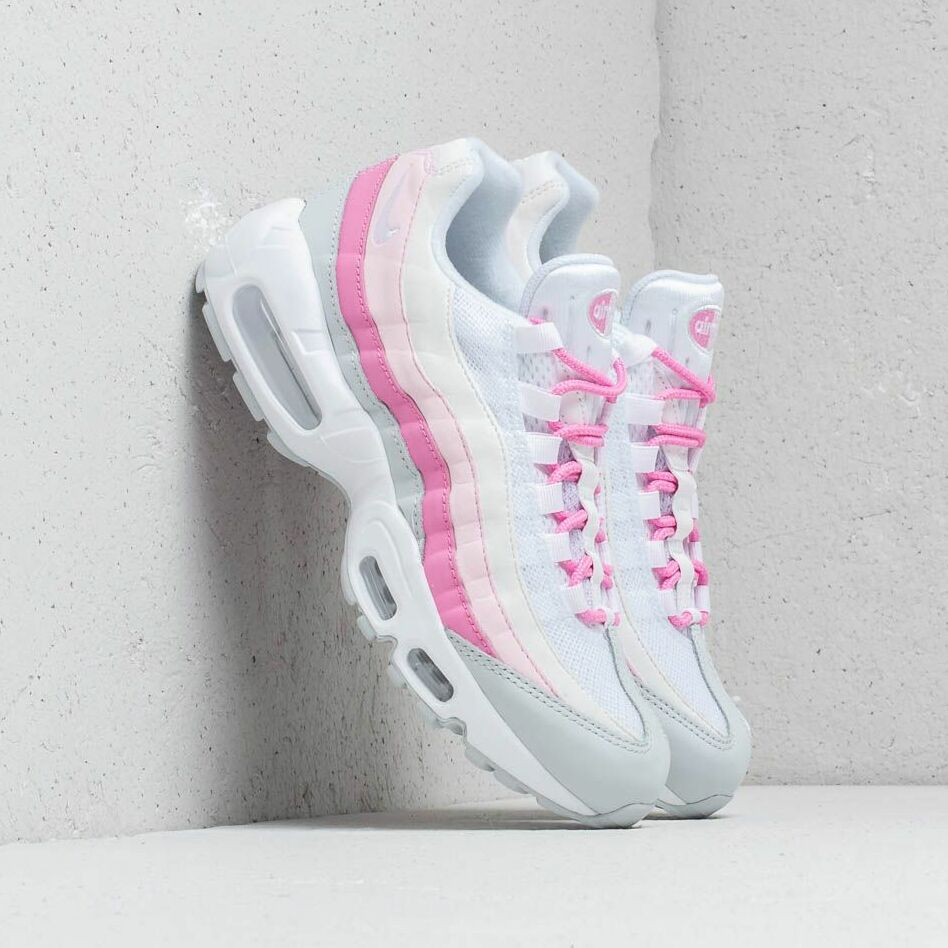 Nike W Air Max 95 Essential White/ White-Psychic Pink-Pure Platinum EUR 36.5