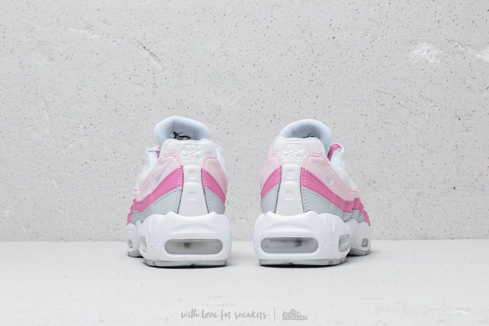 Nike W Air Max 95 Essential White  White-Psychic Pink-Pure Platinum ... aec02210ce9