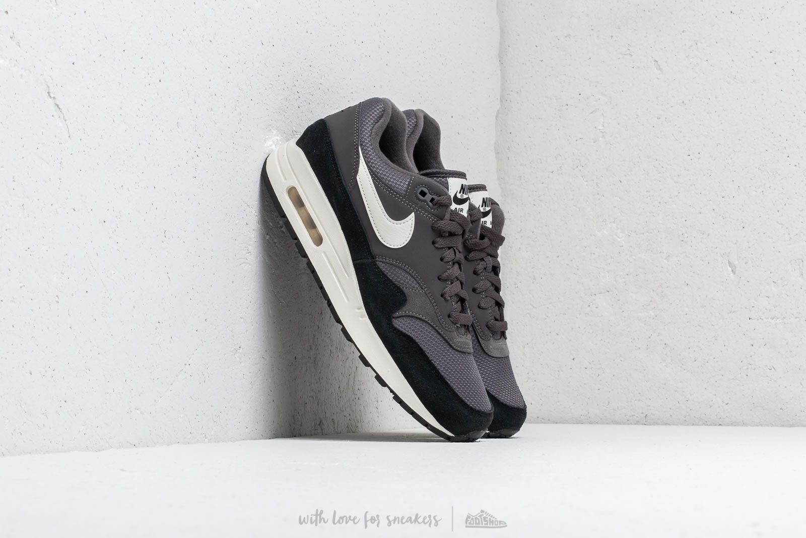 dec210c837 Nike Air Max 1 Thunder Grey/ Sail-Sail-Black at a great price