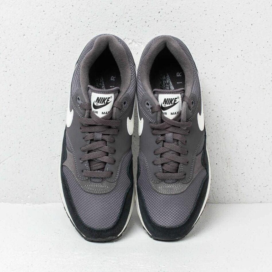 Nike Air Max 1 Thunder Grey/ Sail-Sail-Black, Gray