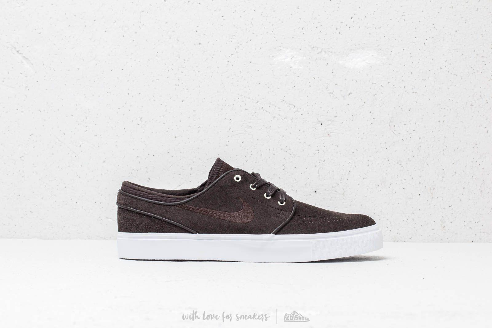 traicionar violinista máximo  Men's shoes Nike Zoom Stefan Janoski Velvet Brown/ Velvet Brown-White |  Footshop