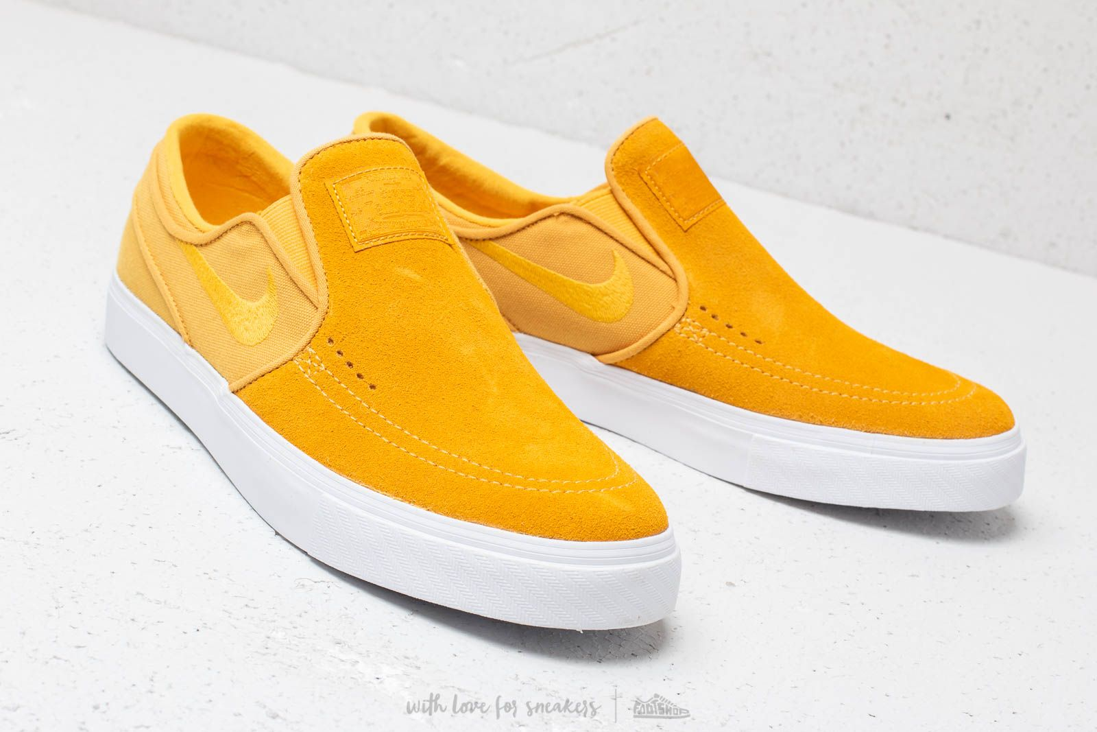 yellow janoski