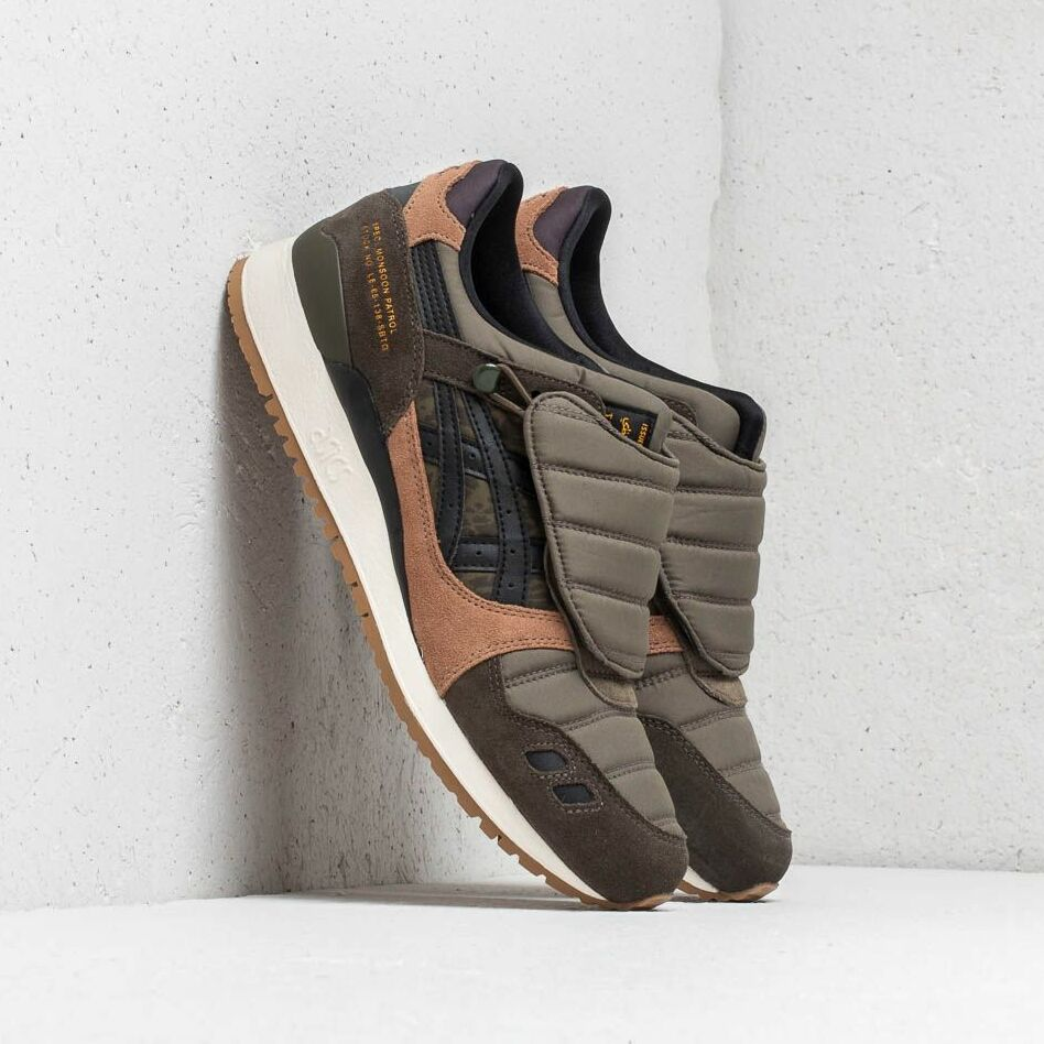 "Asics x Limited Edt x SBTG Gel-Lyte III ""Monsoon Patrol"" Aloe/ Black EUR 40.5"