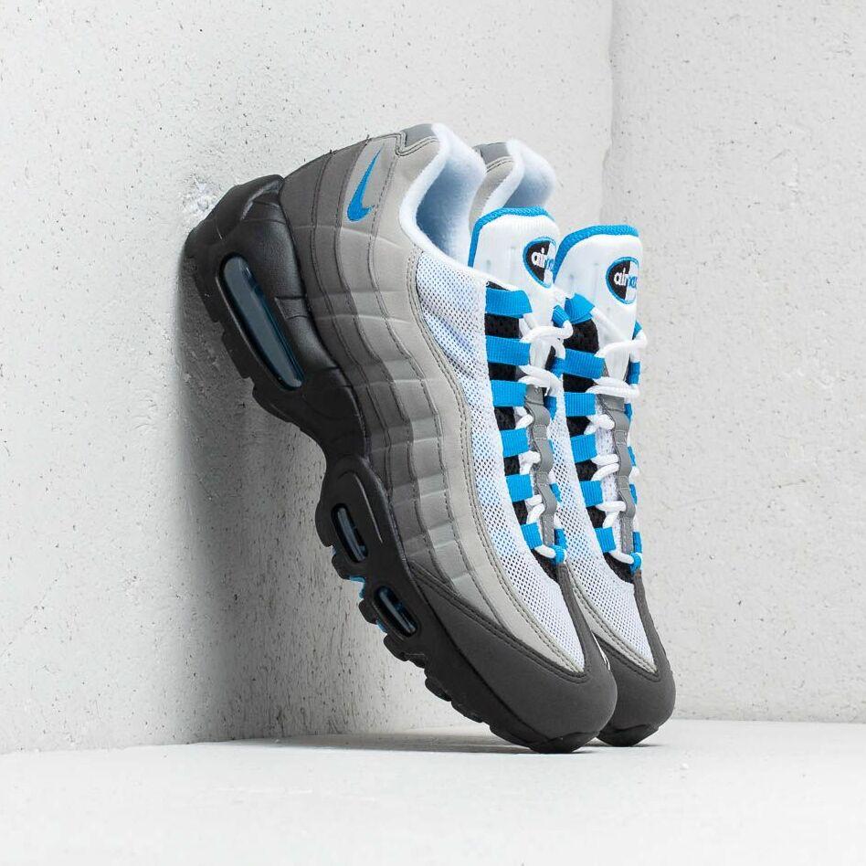 0bd51c380 Nike Air Max 95 '99 White/ Crystal Blue EUR 40.5