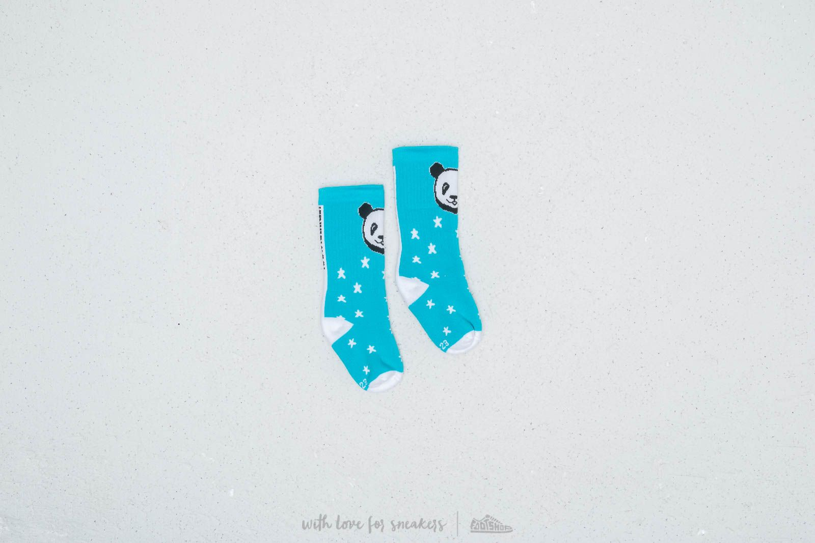 LoowFAT KIDS Panda Socks Blue za skvelú cenu 8 € kúpite na Footshop.sk