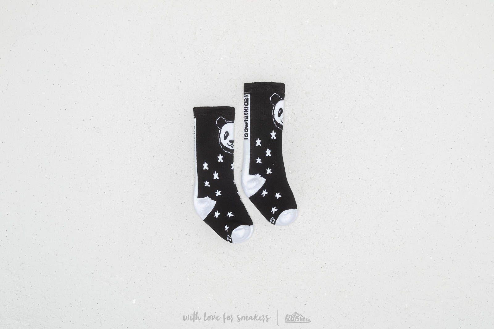 LoowFAT KIDS Panda Socks Black za skvelú cenu 8 € kúpite na Footshop.sk
