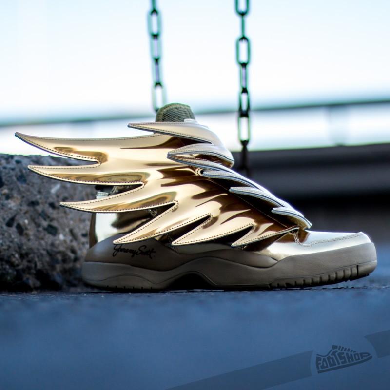 Herren Sneaker Und Schuhe Adidas Jeremy Scott Js Wings 3 0 Gold Footshop
