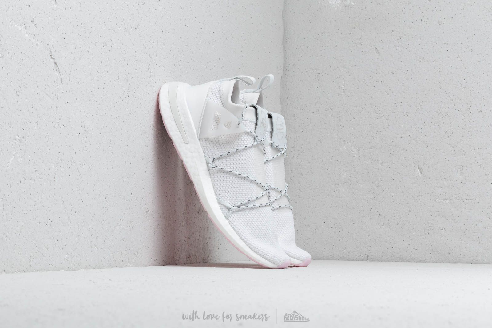 Women's shoes adidas Arkyn Knit W Crystal White/ Ftw White/ Clpink