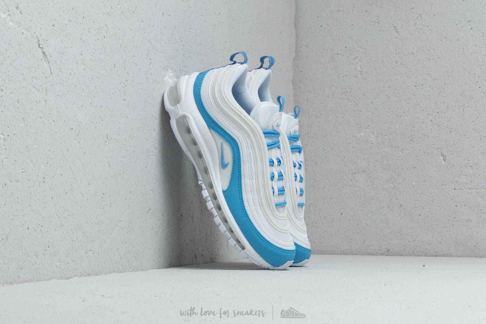 Intentar Supone Directamente  Women's shoes Nike W Air Max 97 Ess White/ University Blue | Footshop