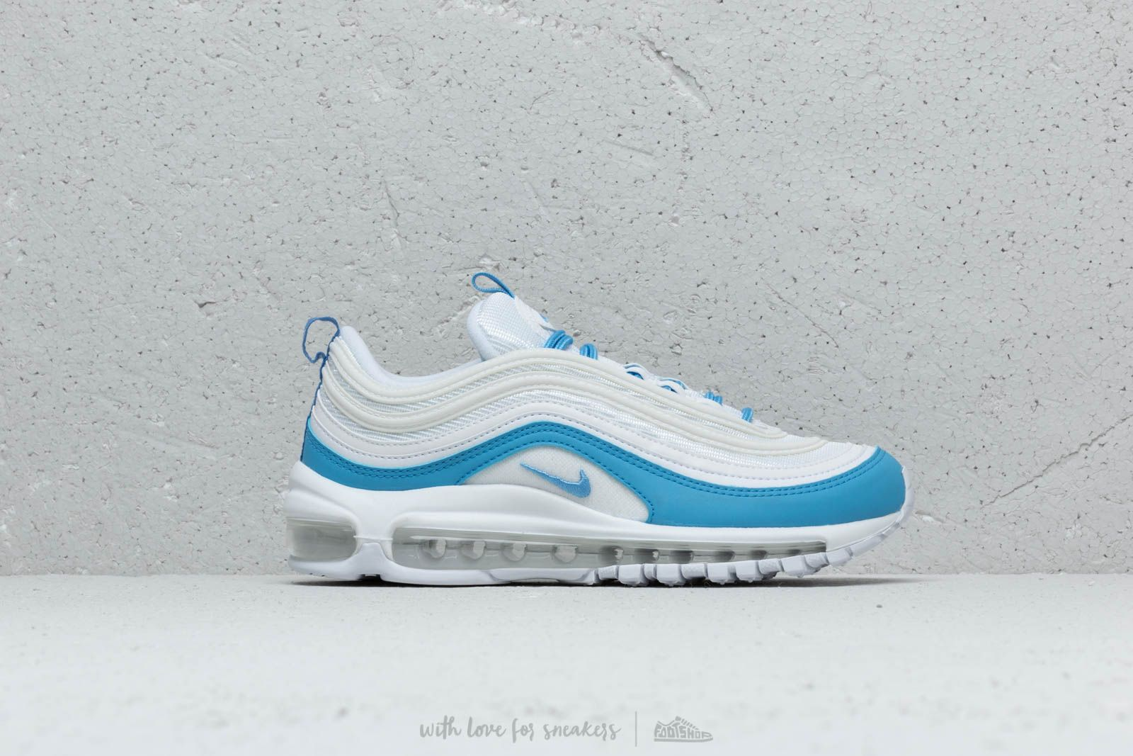 Nike W Air Max 97 Ess White University Blue | Footshop