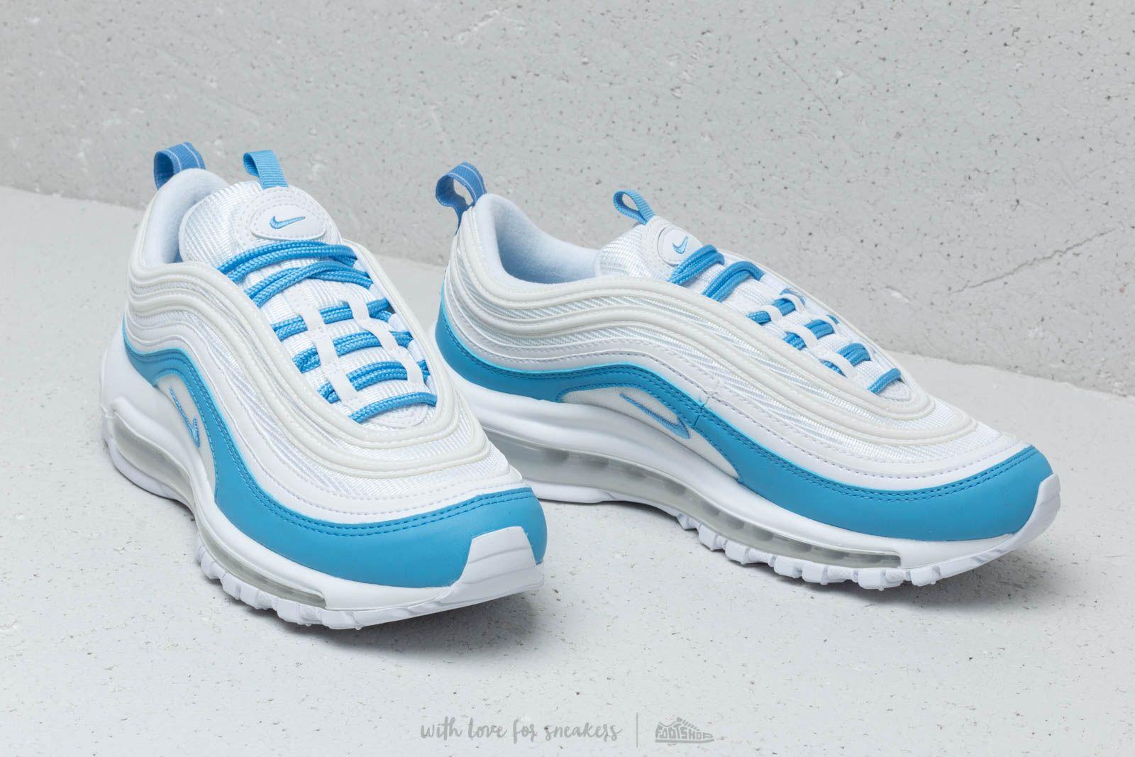 Nike W Air Max 97 Ess White  University Blue za skvelú cenu 169 € kúpíte 47187f6bb