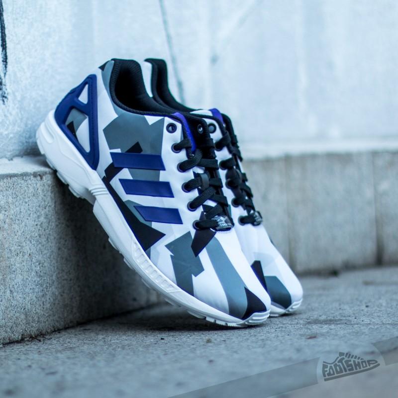 Men's shoes adidas ZX FLUX White/Purple