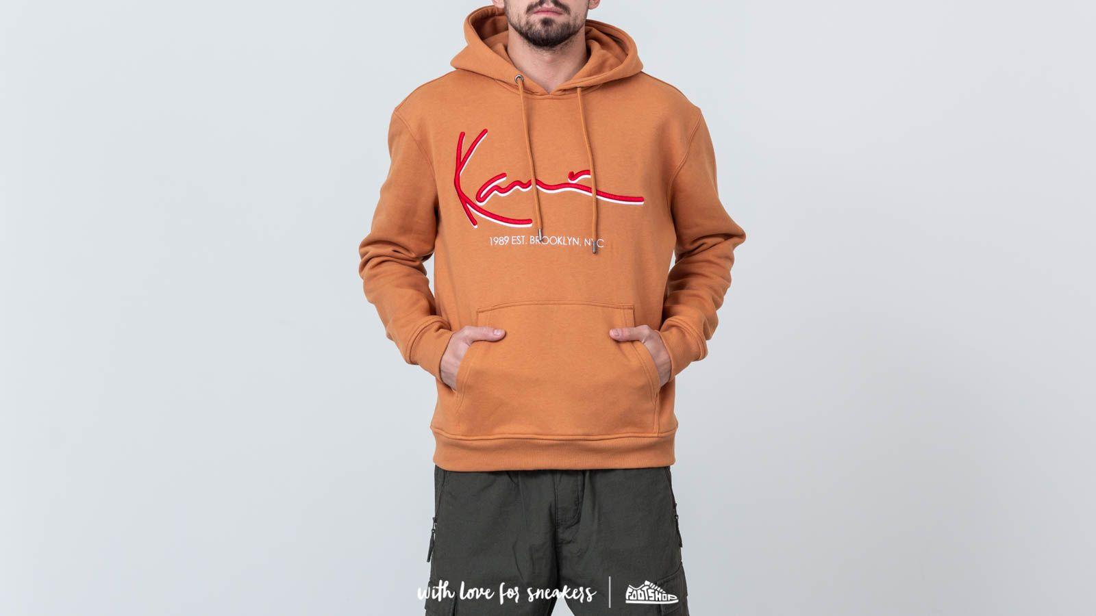 Karl Kani Signature Hoodie Brown za skvelú cenu 50 € kúpite na Footshop.sk