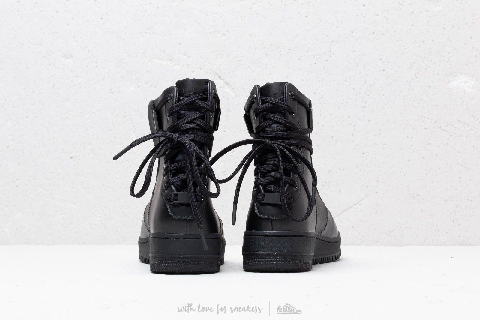 dramático Desbordamiento Dios  Women's shoes Nike W Af1 Rebel Xx Black/ Black-Black | Footshop