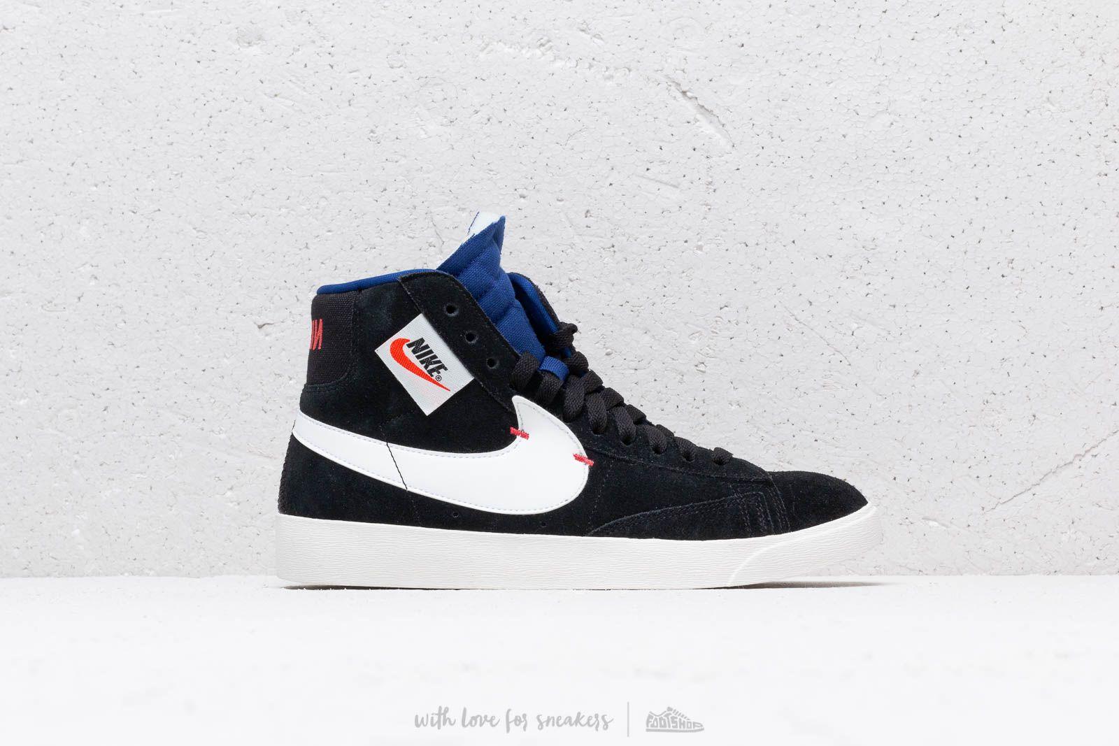 a421eb9ea69 Nike Blazer Mid Rebel Wmns Black/ Summit White-Deep Royal Blue at a great