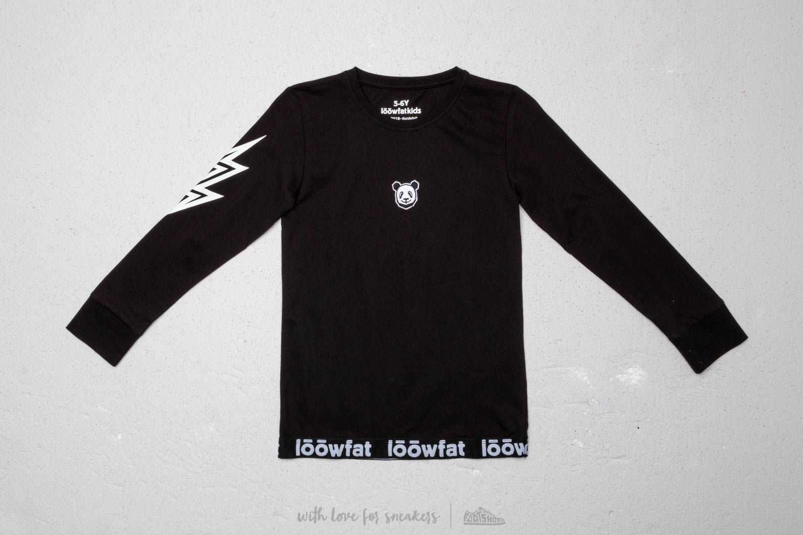 LoowFAT KIDS Loow T-shirt Black za skvelú cenu 34 € kúpite na Footshop.sk