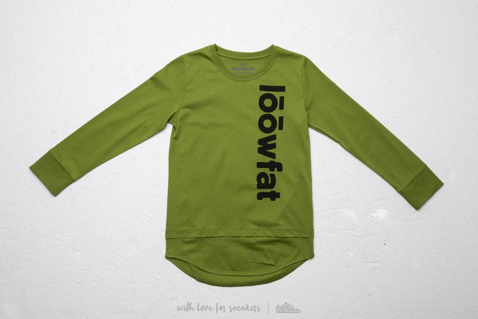 LoowFAT KIDS Si: Bling Longsleeve T-Shirt Green za skvelú cenu 24 € kúpite na Footshop.sk