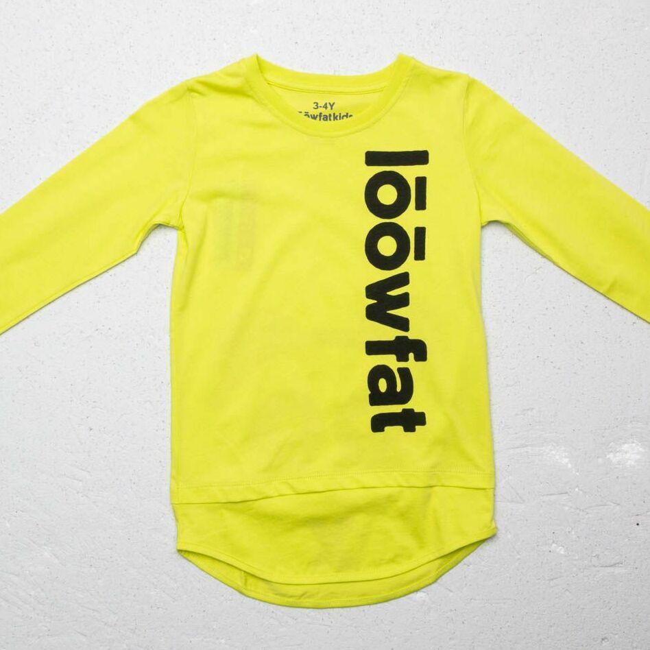 LoowFAT KIDS Si: Bling Longsleeve T-Shirt Yellow