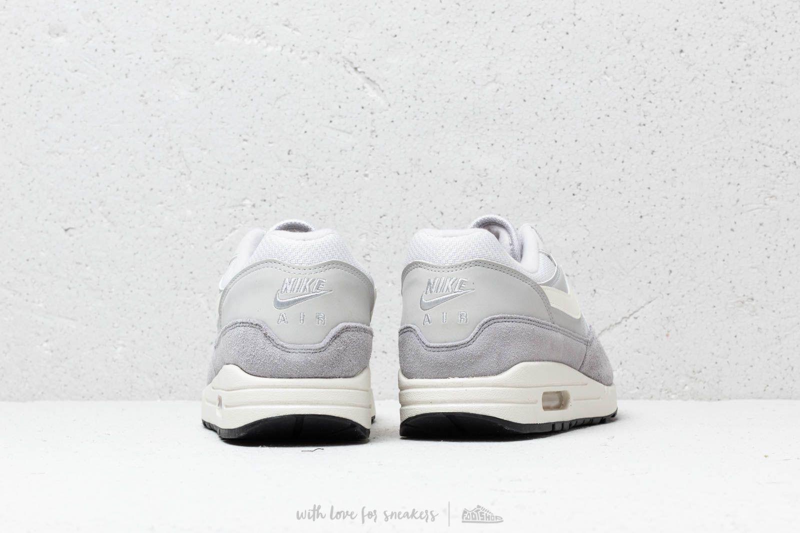 Nike Air Max 1 Vast Grey Sail Sail Wolf Grey   Footshop
