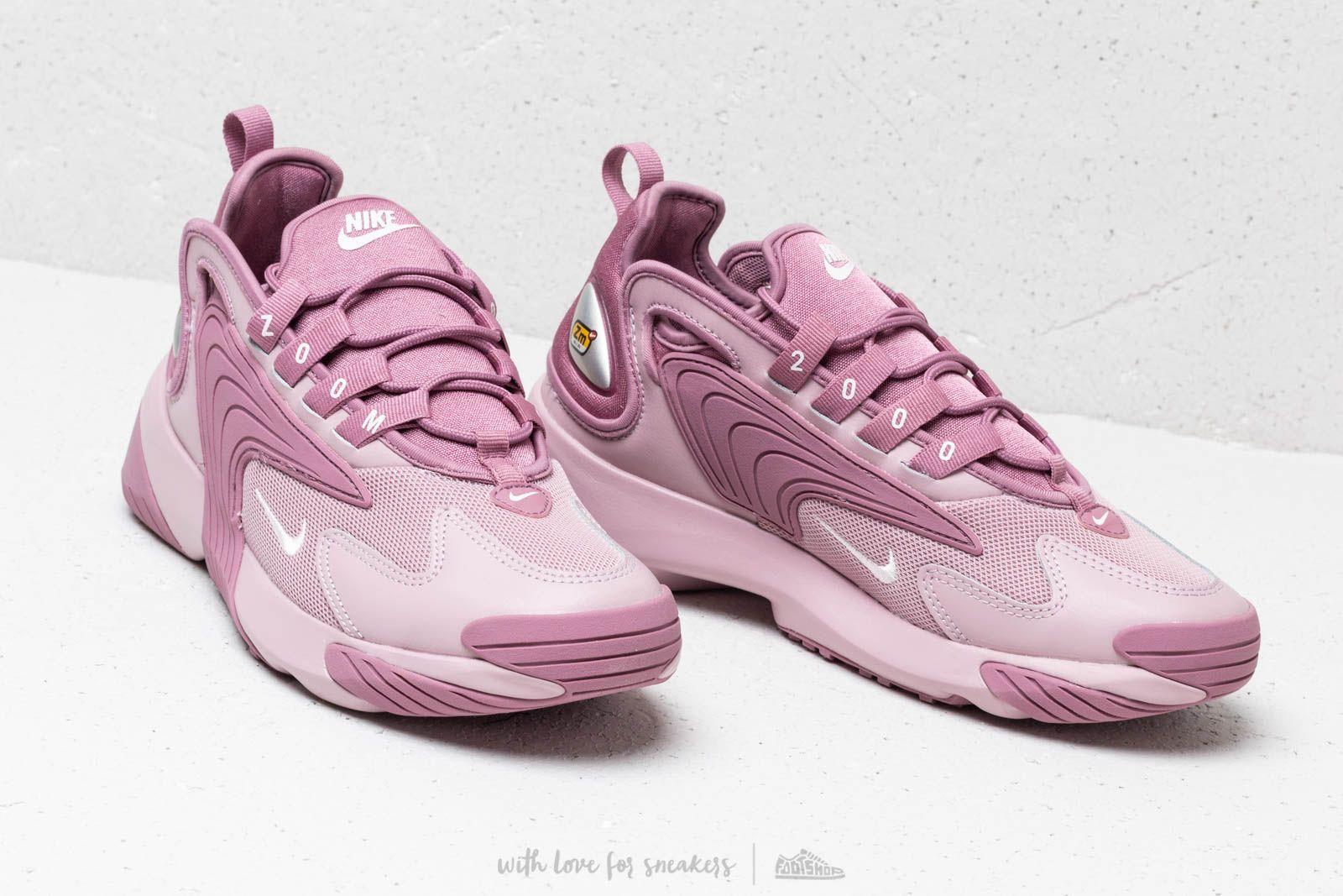 Chaussures NIKE Wmns Zoom 2K AO0354 500 Plum DustPale PinkPlum Chalk