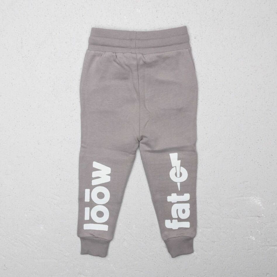 LoowFAT KIDS Motocross Joggers Grey, Gray