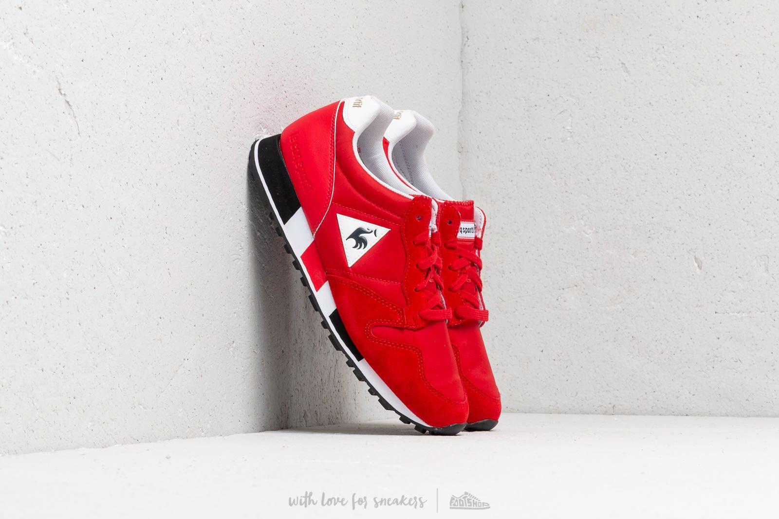 le coq sportif Omega Pure Red/ Black za skvělou cenu 2 580 Kč koupíte na Footshop.cz