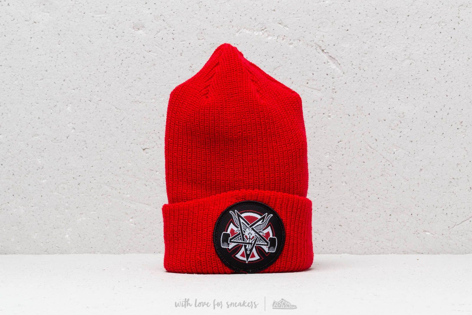 Independent x Thrasher Pentagram Cross Beanie Lipstick za skvělou cenu 499 Kč koupíte na Footshop.cz