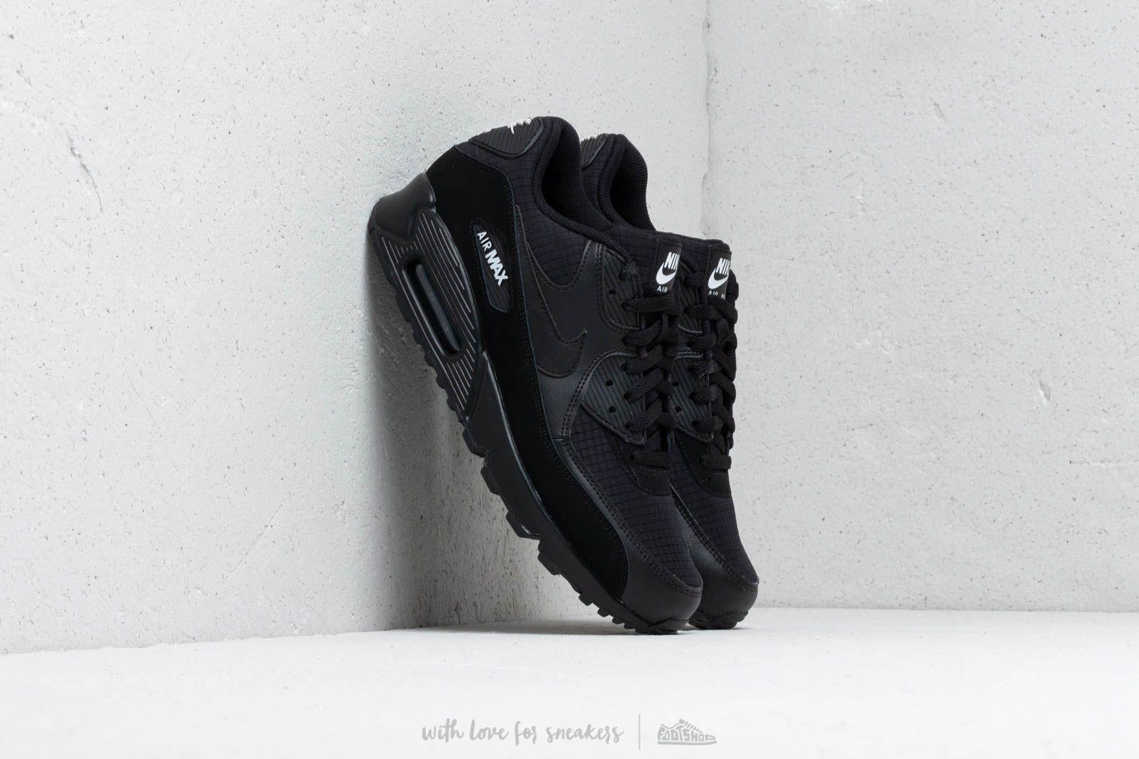 online retailer ead80 7cca4 Nike Air Max 90 Essential Black/ White | Footshop