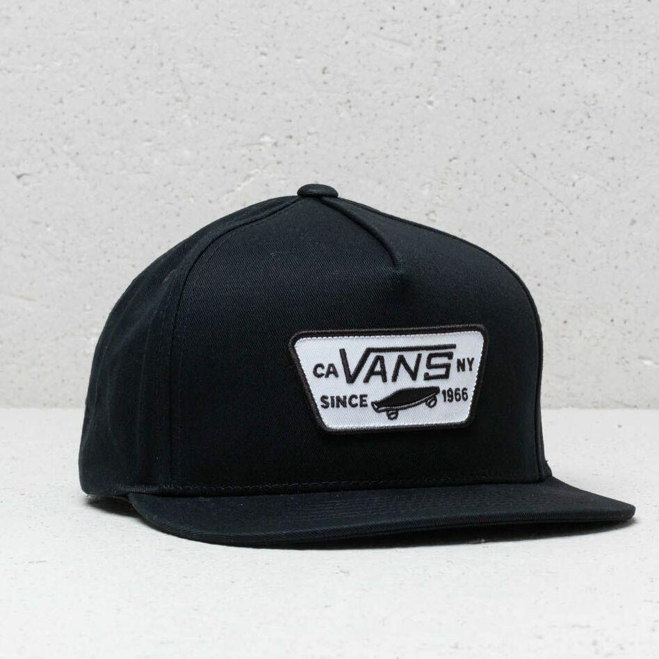 Vans Full Patch Snapback Cap True Black univerzálna