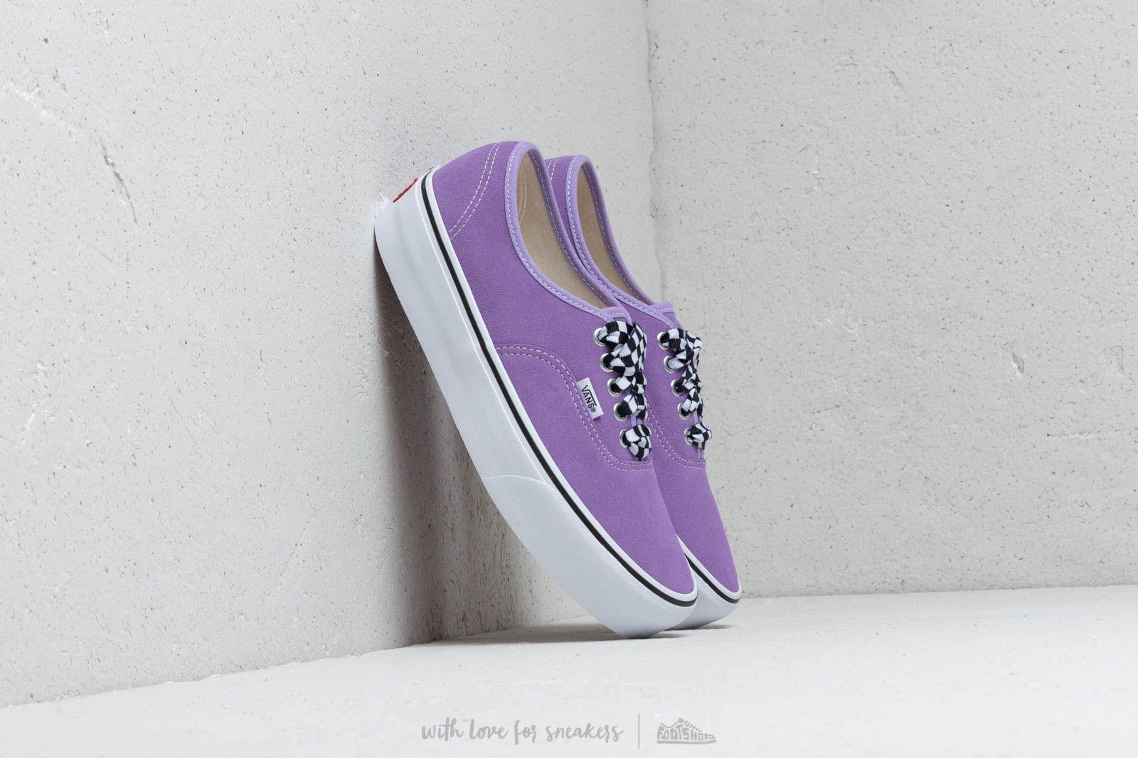 Pánské tenisky a boty Vans Authentic Platform (ChkrBrdlace) Viole