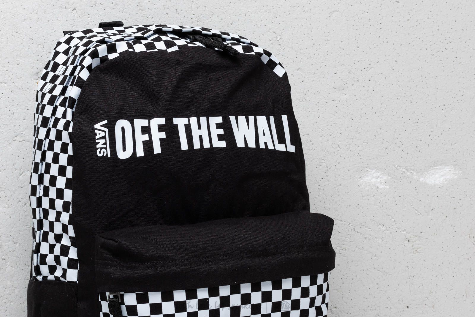 Vans Central Realm Backpack Black White | Footshop