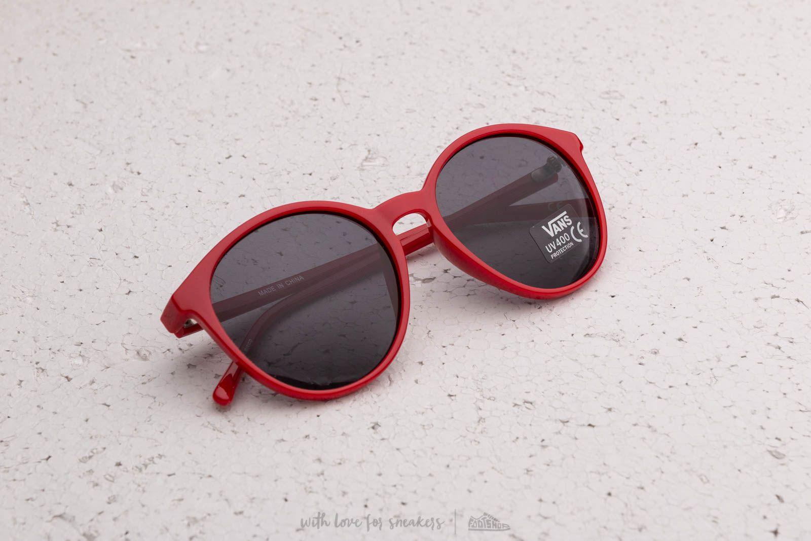 Vans Early Rises Sunglasses Tango Red  edfa7096dc1