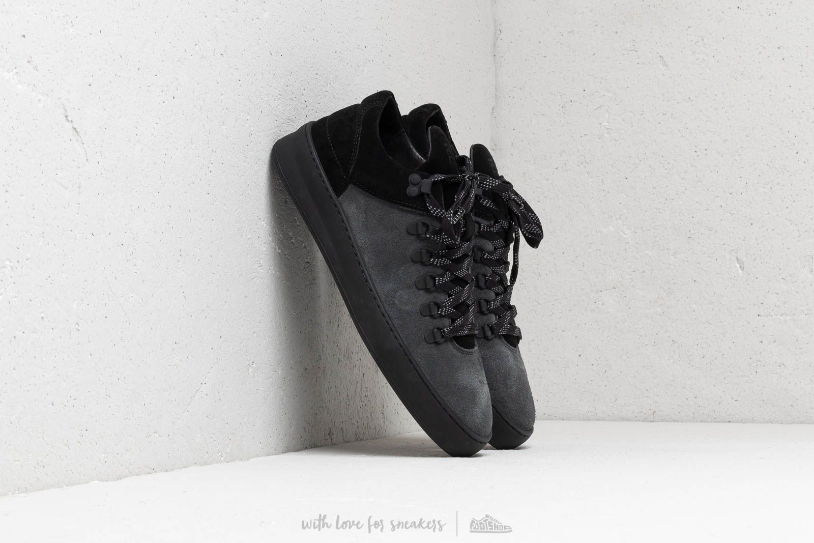 Filling Pieces Mountain Cut Plain Cape Suede