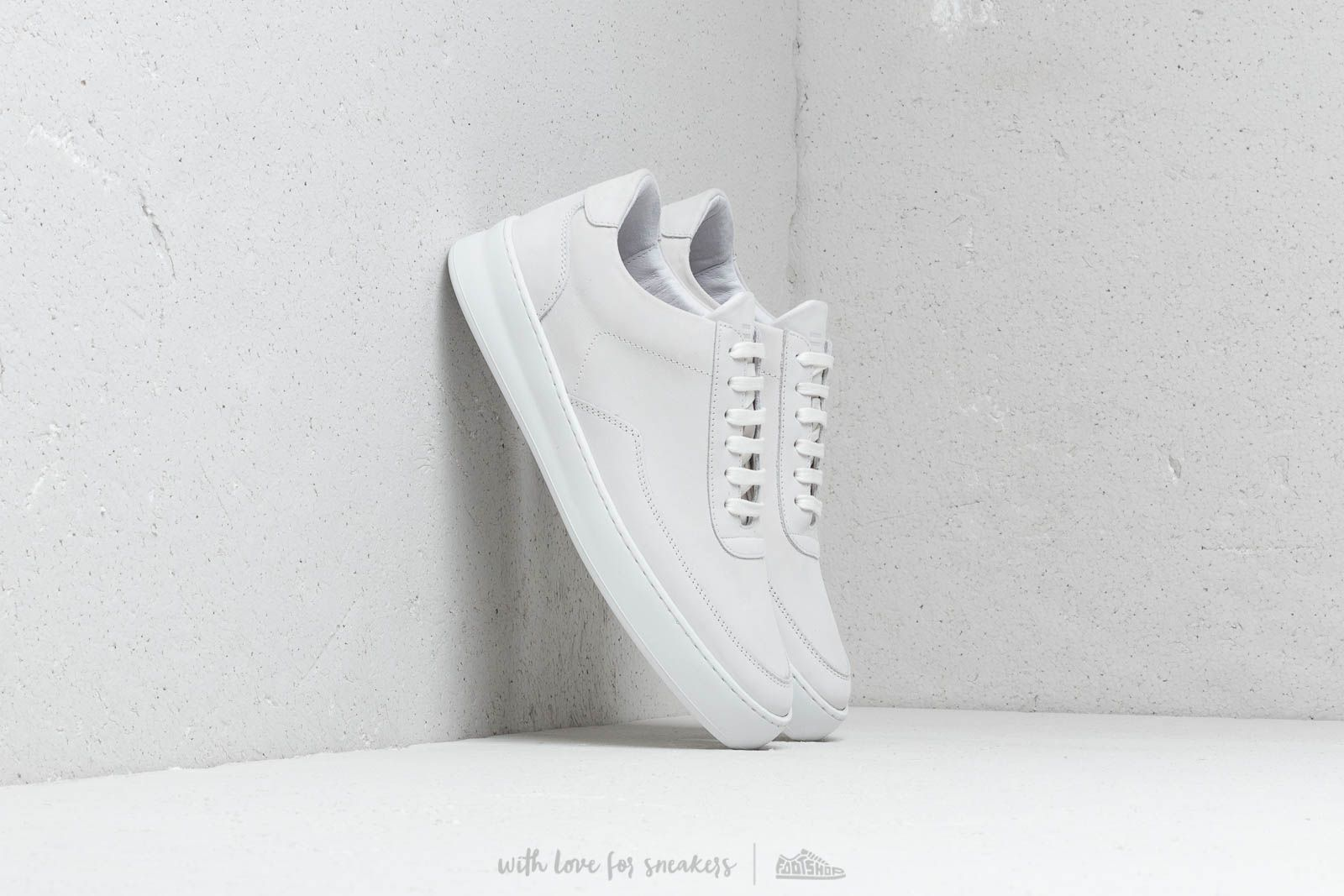 Filling Pieces Low Mondo Plain Nardo Nubuck