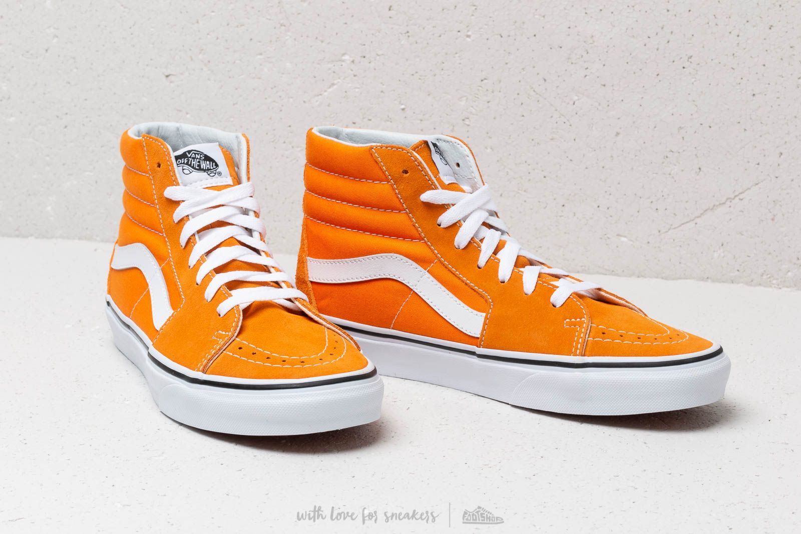 Vans Sk8 Hi Dark Cheddar True White | Footshop