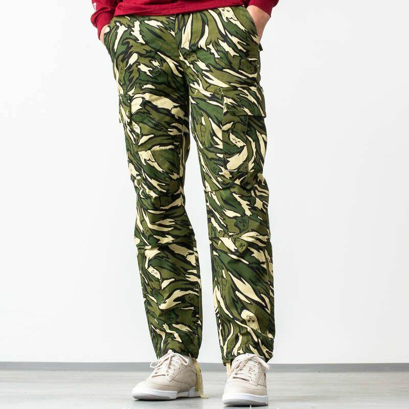 RIPNDIP Tiger Nerm Cargo Pants Green Camo