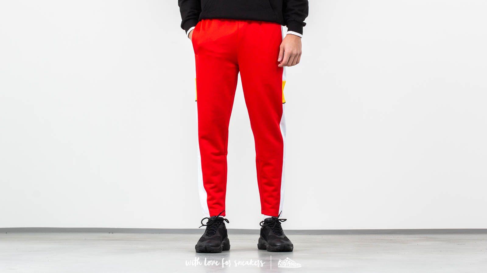 Džíny a kalhoty Puma Homage to Archive Crop Pants Red