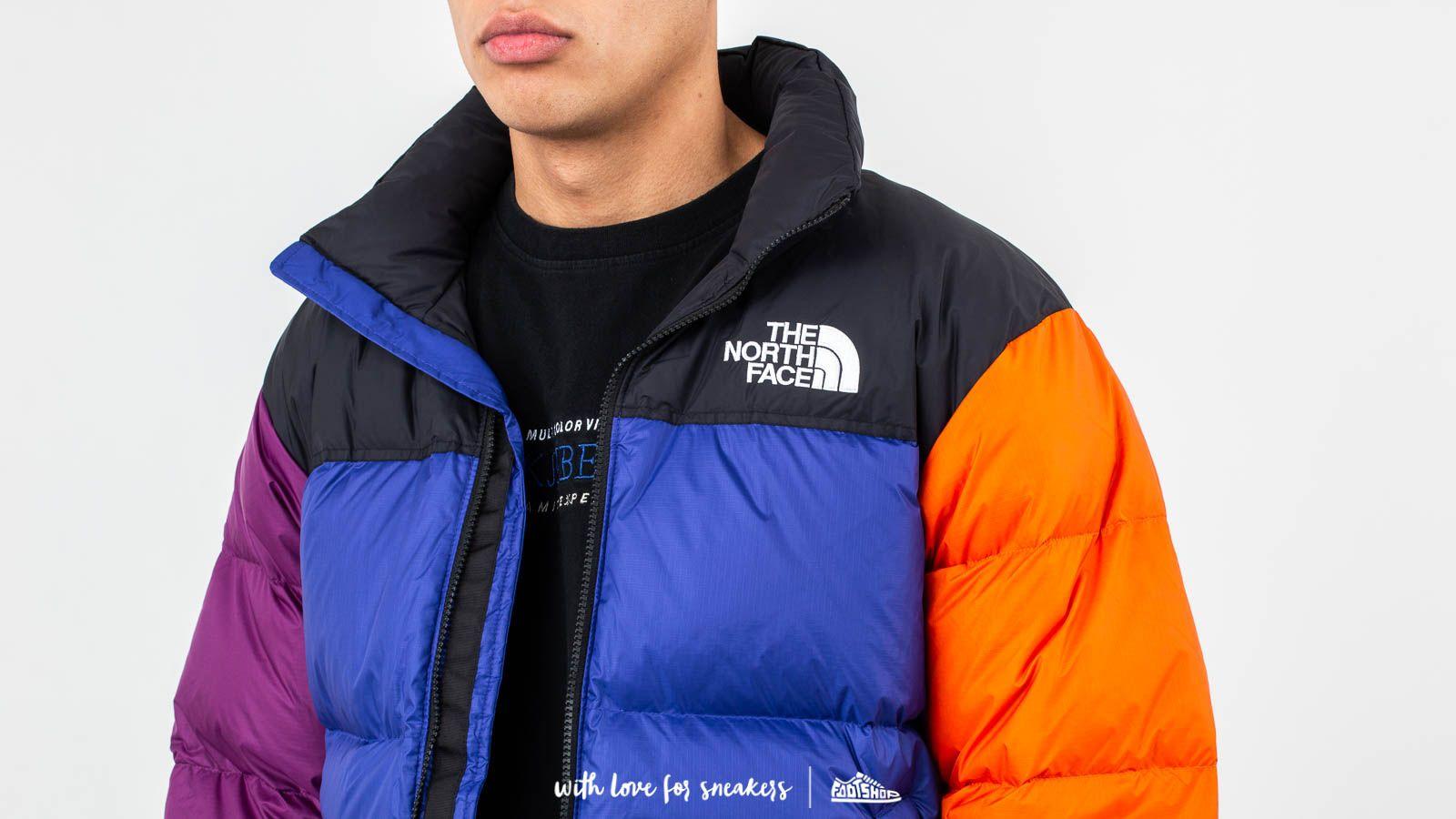 The North Face 1996 Retro Nuptse Jacket Aztec Blue Footshop