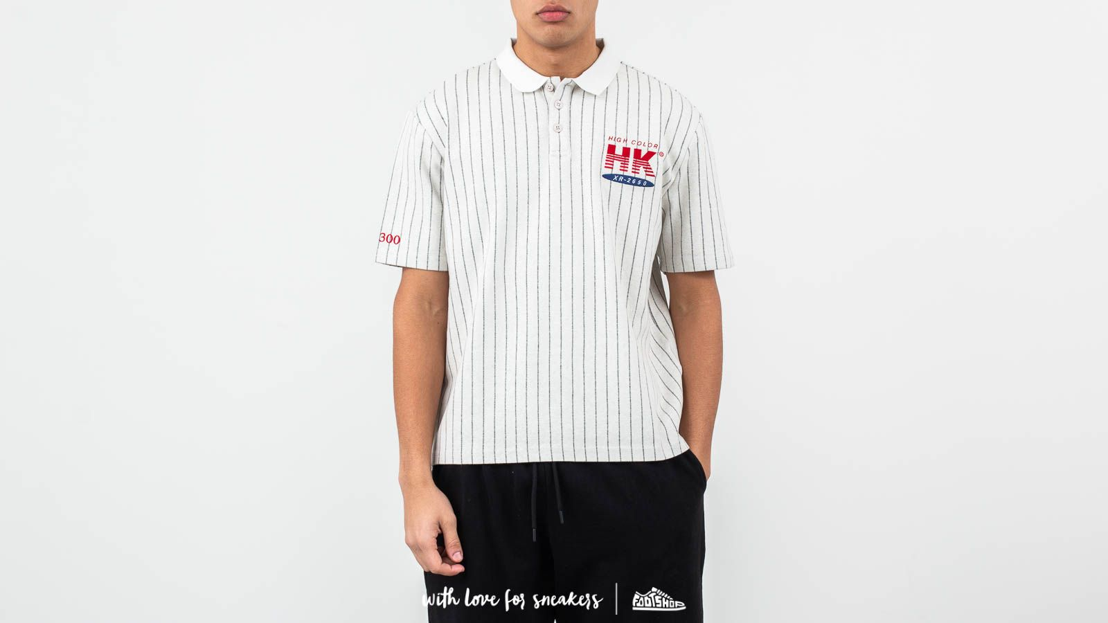 6fc945040a Han Kjøbenhavn Polo Tee Pinstripe White at a great price £78 buy at Footshop