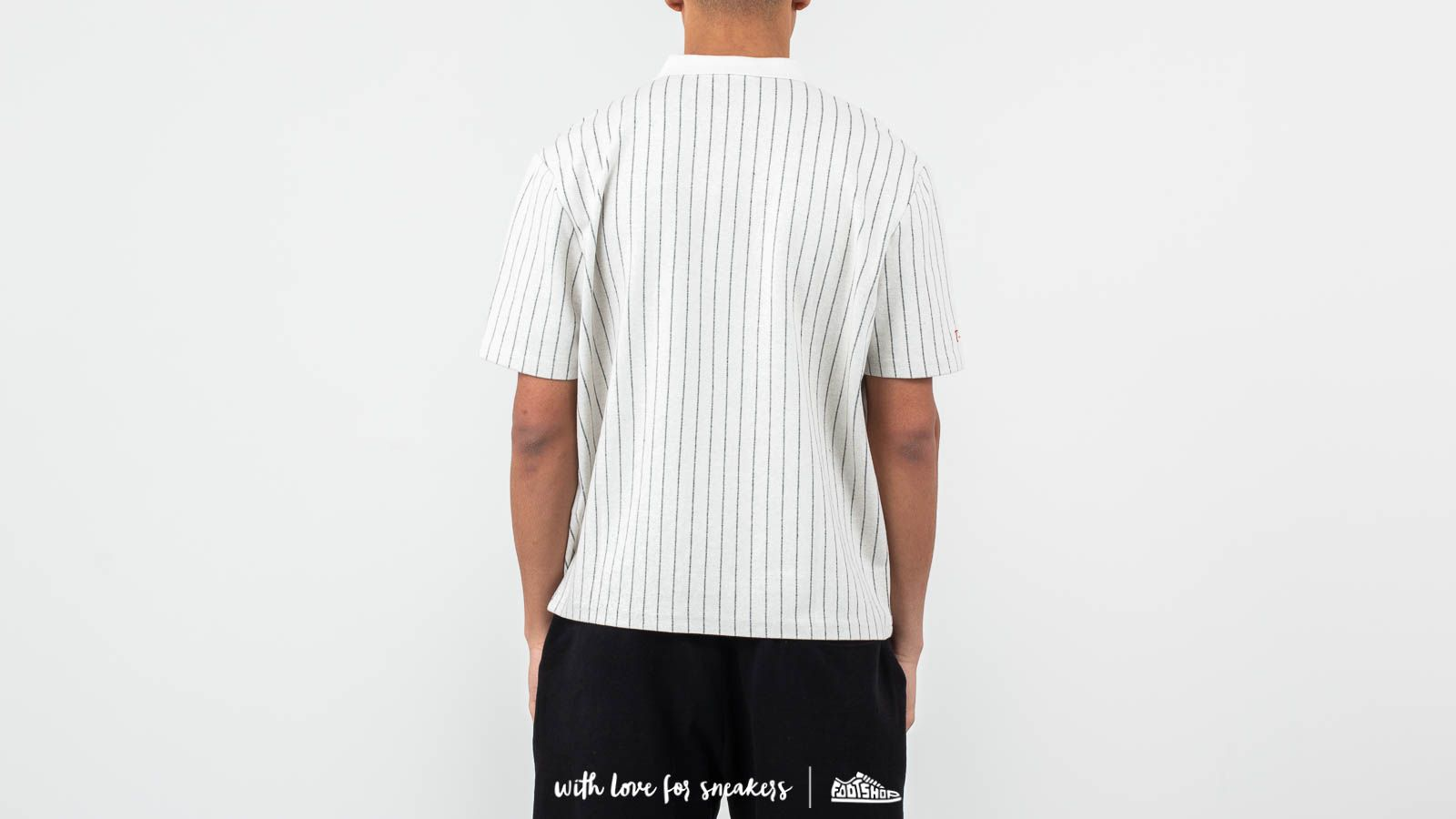 1318c3e11b0 Han Kjøbenhavn Polo Tee Pinstripe White at a great price 90 € buy at  Footshop