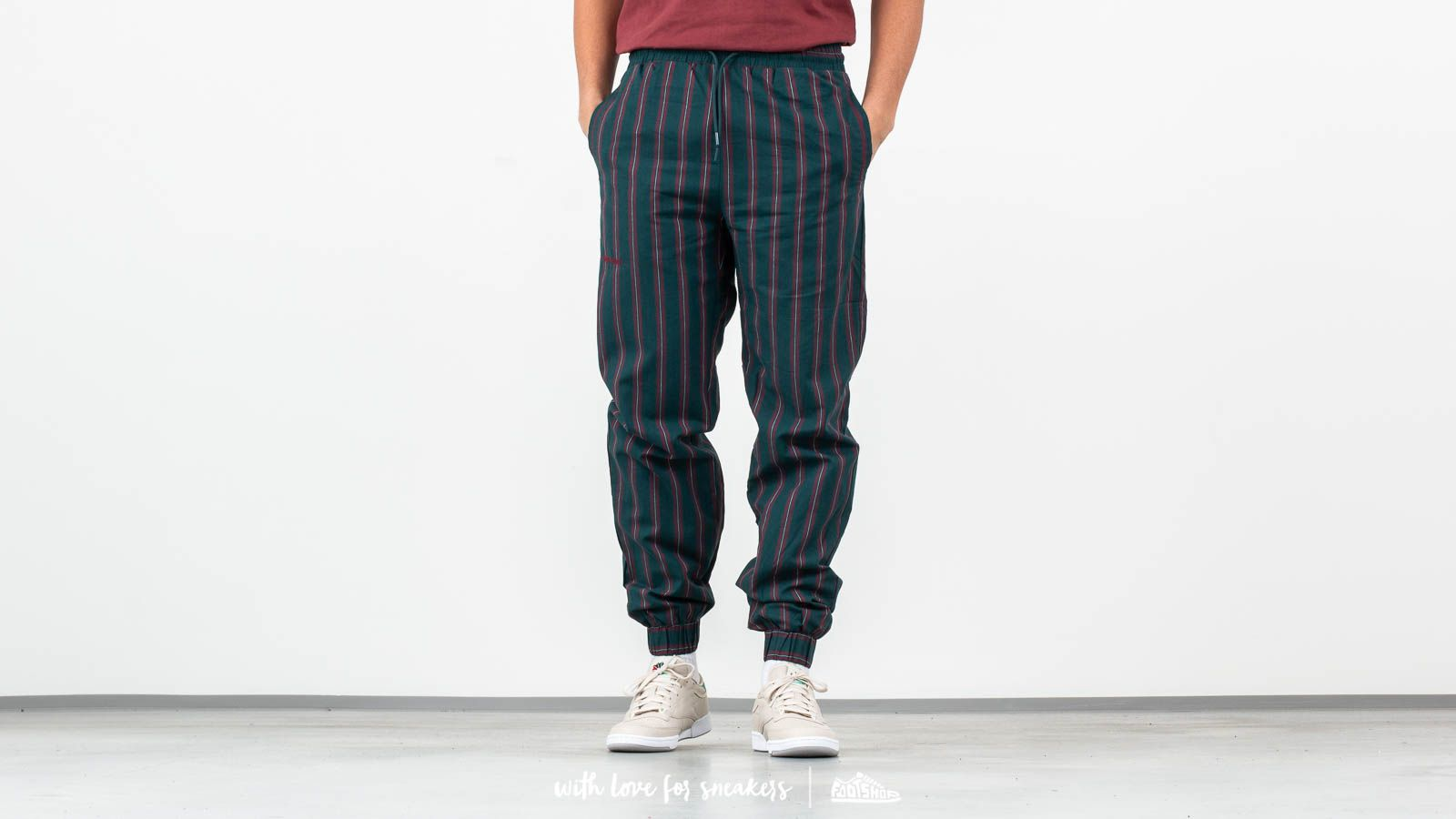 Han Kjøbenhavn Track Pants Green Stripe za skvelú cenu 155 € kúpite na Footshop.sk