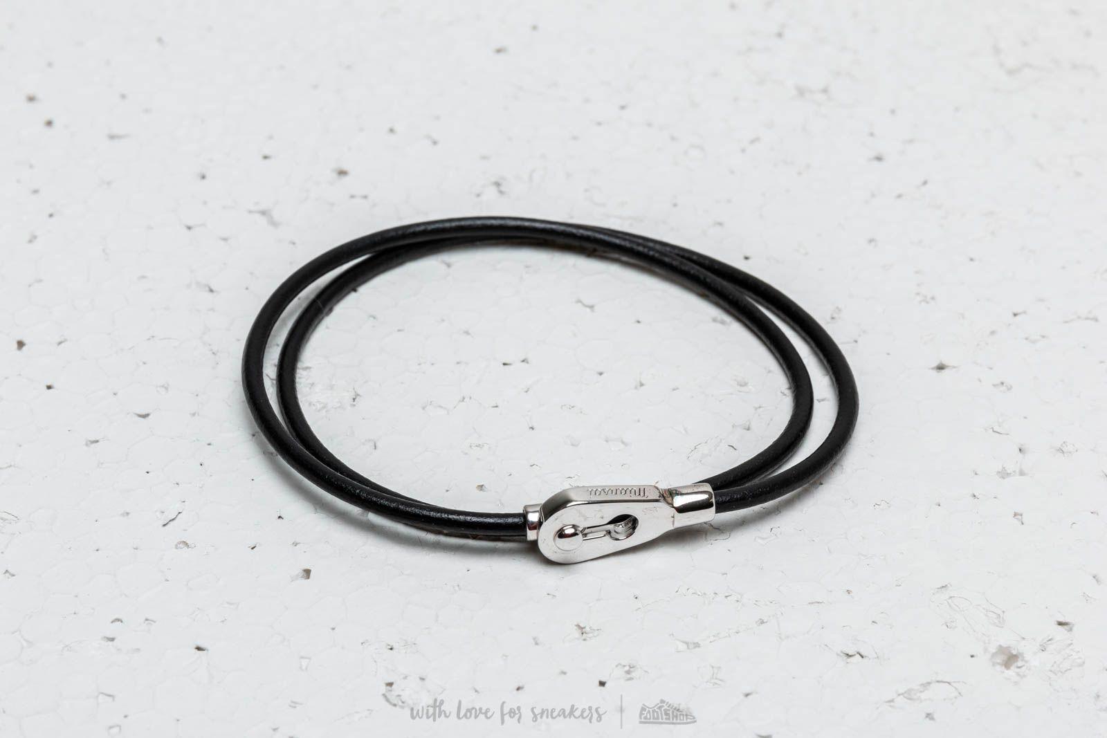 Miansai Centra Leather Wrap Bracelet Silver za skvelú cenu 66 € kúpite na Footshop.sk