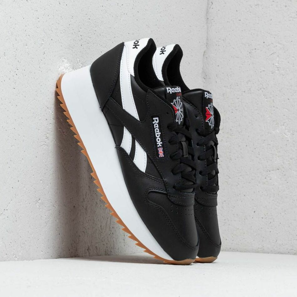 Reebok Classic Leather Double Black/ White/ Primal Red EUR 38.5