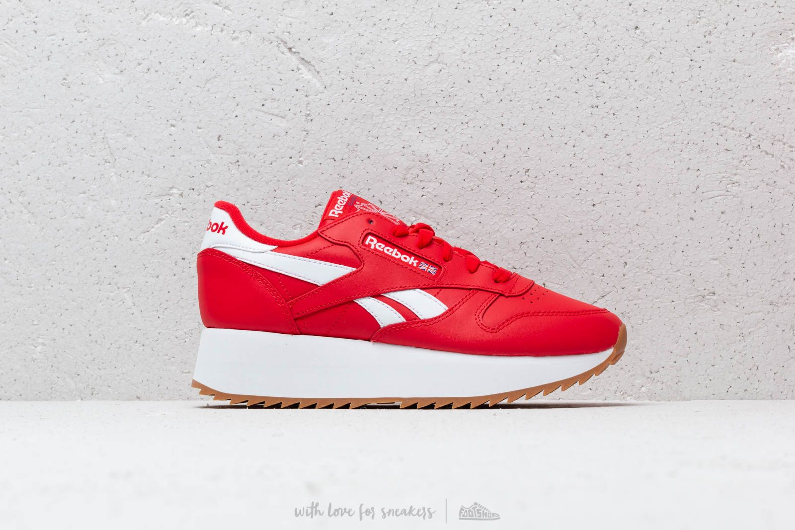 Reebok Classic Leather Double W Primal Red  White  Cobalt at a great price  106 bdac70a2c