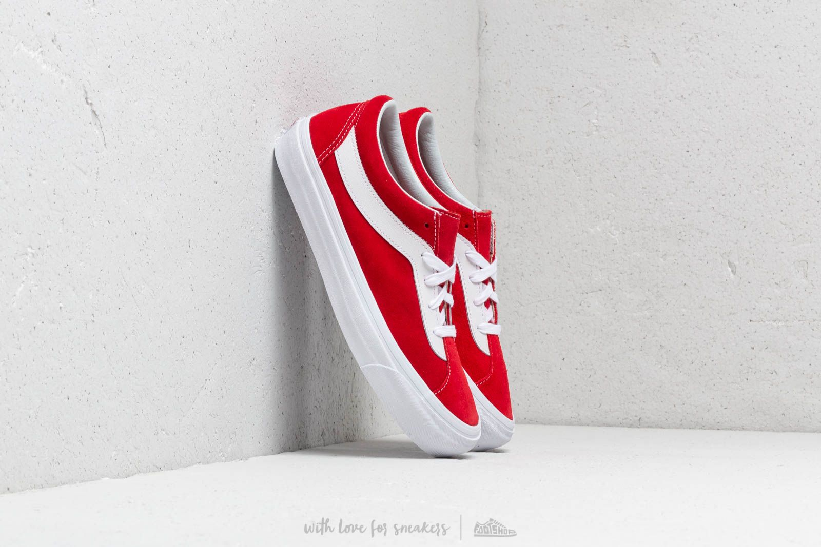 Vans Bold Ni Racing Red/ True White at a great price 70 € buy at Footshop