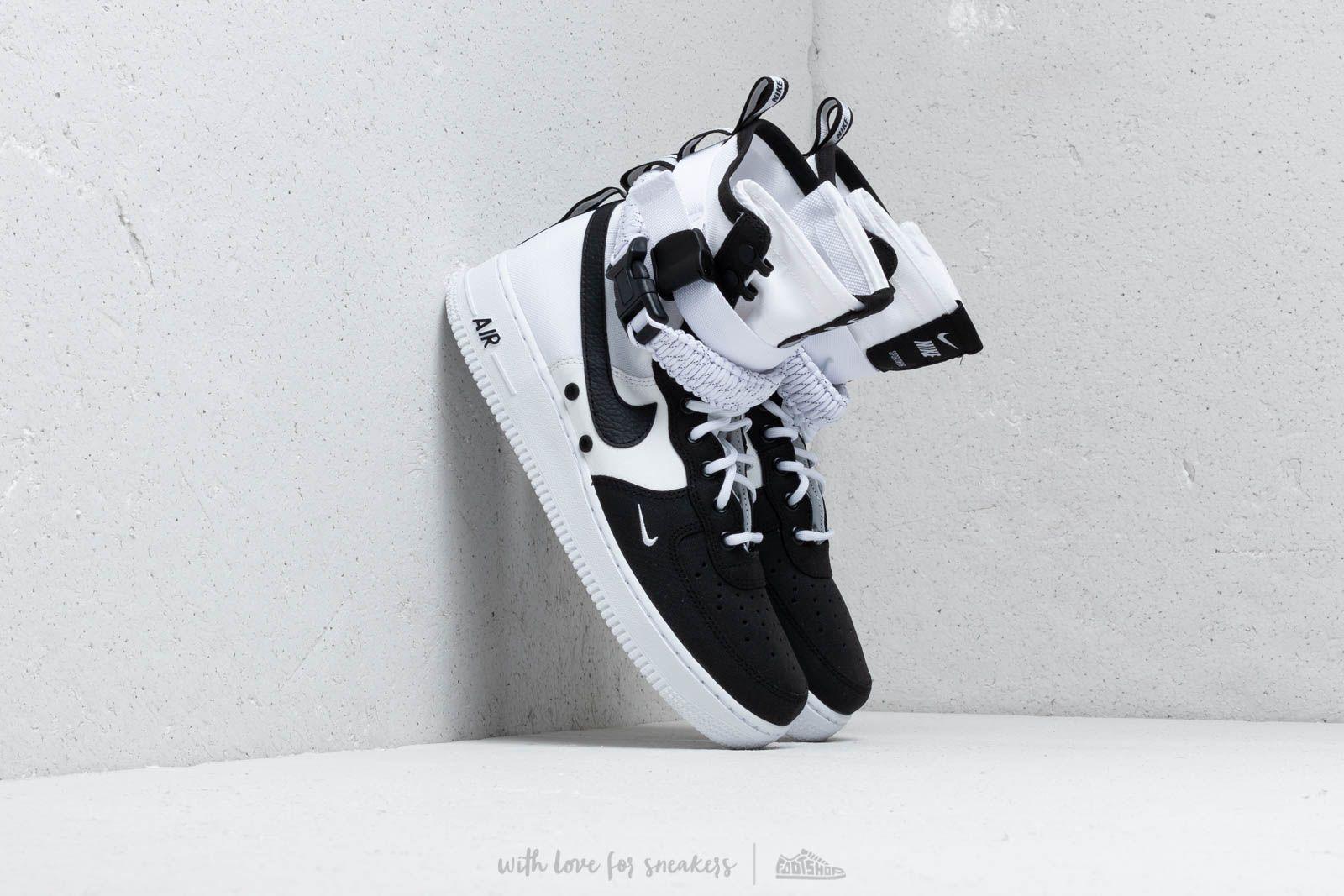Nike SF Air Force 1 White/ Black/ White
