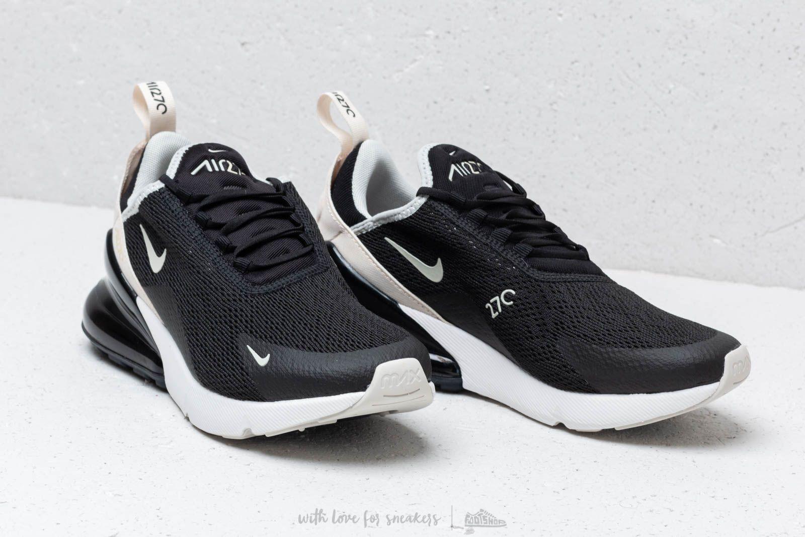 Nike W Air Max 270 Black Light Bone Light Bone   Footshop